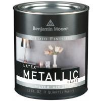 Studio Finishes Latex Metallic Glaze.620