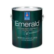Emerald Interior Acryllic Latex. Sherwin-Williams
