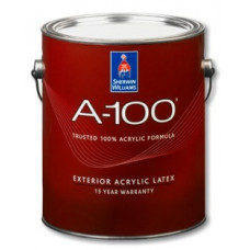 Exterior Latex Flat A-100 . Sherwin-Williams